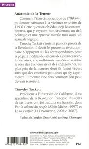 Anatomie de la Terreur. Le processus révolutionnaire (1787-1793)
