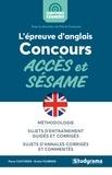 Pierre Couturier et Emilie Fournier - L'épreuve d'anglais aux concours Accès et Sésame.