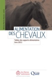 William Martin-Rosset - Alimentation des chevaux - Tables des apports alimentaires Inra 2011.
