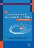 Dominique Azé et Guillaume Constans - Calcul différentiel et équations différentielles - Exercices corrigés.