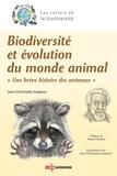 """Jean-Christophe Guéguen - Biodiversité et évolution du monde animal - """"Une brève histoire des animaux""""."""