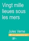 Jules Verne - Vingt mille lieues sous les mers - Roman d'aventures.