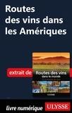 Nathalie Richard - Routes des vins dans les Amériques.