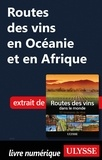 Nathalie Richard - Routes des vins en Océanie et en Afrique.