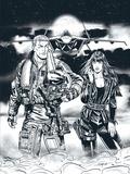 Gil Formosa et Frédéric Zumbiehl - Buck Danny  : La nuit du Spectre - Avec une illustration dédicacée.