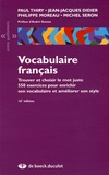 Paul Thiry et Jean-Jacques Didier - Vocabulaire français.