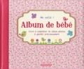 ZNU - Album de bébé Me voilà ! (fille).