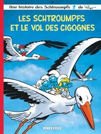 Peyo et Thierry Culliford - Les Schtroumpfs Tome 38 : Les Schtroumpfs et le vol des cigognes.