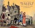 David Vandermeulen et Daniel Casanave - Romantica Tome 1 : Shelley, la vie amoureuse de l'auteur de Frankenstein.