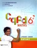 Annick Van Eerdenbrugghe et Anne Bousson - Maths 6e CQFD - Manuel 4 périodes / semaine.
