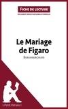 Isabelle Consiglio - Le mariage de Figaro de Beaumarchais - Fiche de lecture.