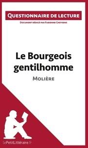 Fabienne Gheysens - Le bourgeois gentilhomme de Molière - Questionnaire de lecture.