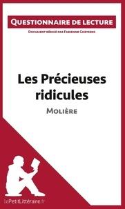 Fabienne Gheysens - Les précieuses ridicules de Molière - Questionnaire de lecture.