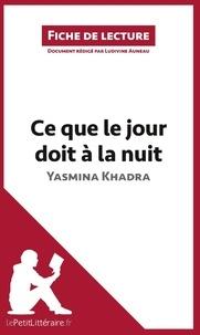 Ludivine Auneau - Ce que le jour doit à la nuit.