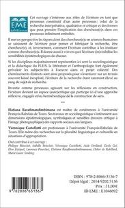 Chercheur-e-s et écritures qualitatives de la recherche