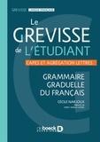 Cécile Narjoux - Le grevisse de l'étudiant - CAPES et Agrégation Lettres.