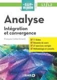 François Cottet-Emard - Analyse - Intégration et convergence.
