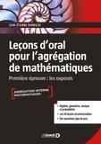 Jean-Etienne Rombaldi - Leçon d'oral pour l'agrégation de mathématiques - Première épreuve : les exposés.