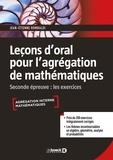 Jean-Etienne Rombaldi - Leçon d'oral pour l'agrégation des mathématiques - Seconde épreuve : les exercices.