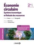 Vincent Aurez - Économie circulaire - Système économique et finitude des ressources.