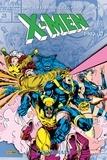 Scott Lobdell et Fabian Nicieza - X-Men l'Intégrale  : 1993 - Tome 1.