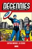 Howard Chaykin et John SR Romita - Décennies - Marvel dans les Années 50 - Captain America : la légende.