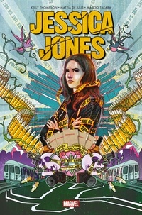 Kelly Thomson - Jessica Jones  : Angle mort.
