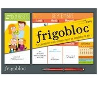 Play Bac - Mini Frigobloc - Le calendrier maxi-aimanté pour se simplifier la vie ! Avec un criterium.