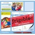 Play Bac - Frigobloc Montessori - Le calendrier maxi-aimanté pour se simplifier la vie ! Avec un criterium.