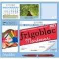 Vanessa Toinet - Frigobloc Montessori - Le calendrier maxi-aimanté pour se simplifer la vie !.