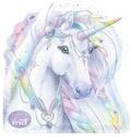 Christine Alcouffe - Ma pochette créative Licorne arc-en-ciel - Avec 1 bâtonnet licorne.