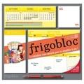 Adrien Siroy - Frigobloc hedbomadaire - Le calendrier maxi-aimanté pour se simplifier la vie ! Avec un criterium.