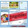 Vanessa Toinet - Frigobloc Montessori - Le calendrier maxi-aimanté pour se simplifer la vie ! Avec 1 crayon.