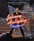 Patrick Carpentier - Johnny Hallyday sur scène.