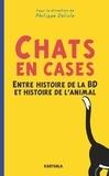 Philippe Delisle - Chats en cases - Entre histoire de la BD et histoire de l'animal.