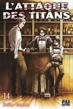 Hajime Isayama - L'attaque des titans Tome 14 : .