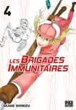 Akane Shimizu - Les brigades immunitaires Tome 4 : .