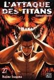 Hajime Isayama - L'attaque des titans Tome 27 : Avec une jaquette réversible et 6 badges exclusifs.