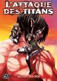 Hajime Isayama - Agenda L'attaque des Titans.