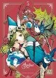 Kamome Shirahama - L'Atelier des Sorciers Tome 5 : Avec 1 jeu de cartes exclusif et 1 jaquette réversible.