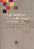 Bruno Maurer - Représentations sociales des langues en situation multilingue - La méthode d'analyse combinée, nouvel outil d'enquête.
