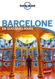 Sally Davies et Catherine Le Nevez - Barcelone en quelques jours. 1 Plan détachable