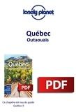 LONELY PLANET FR - GUIDE DE VOYAGE  : Québec - Outaouais.