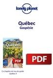 LONELY PLANET FR - GUIDE DE VOYAGE  : Québec - Gaspésie.