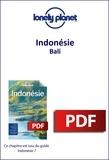LONELY PLANET ENG - GUIDE DE VOYAGE  : Indonésie - Bali.
