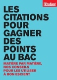 Benoît Falaize - Les citations pour gagner des points au bac.
