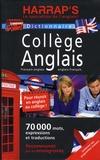 Carine Girac-Marinier - Harrap's dictionnaire collège anglais - Français-anglais / anglais-français.