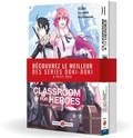 Shin Araki et Koara Kishida - Classroom for Heroes - The Return of the Former Brave  : Pack promo en 2 volumes : Tomes 1 et 2.