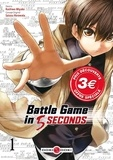 Kashiwa Miyako et Saizou Harawata - Battle Game in 5 Seconds Tome 1 : Prix découverte.