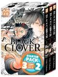 Yûki Tabata - Black Clover  : Coffret en 3 volumes - Tome 1, Le serment ; Tome 2, Le défenseur ; Tome 3, Rassemblement à la cité royale.